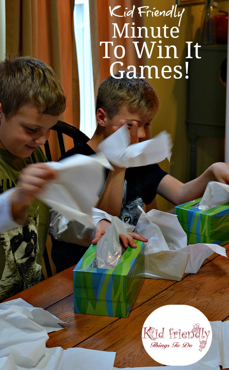 Kid friendly easy minute to win it games for your party for Fun things to do for christmas party