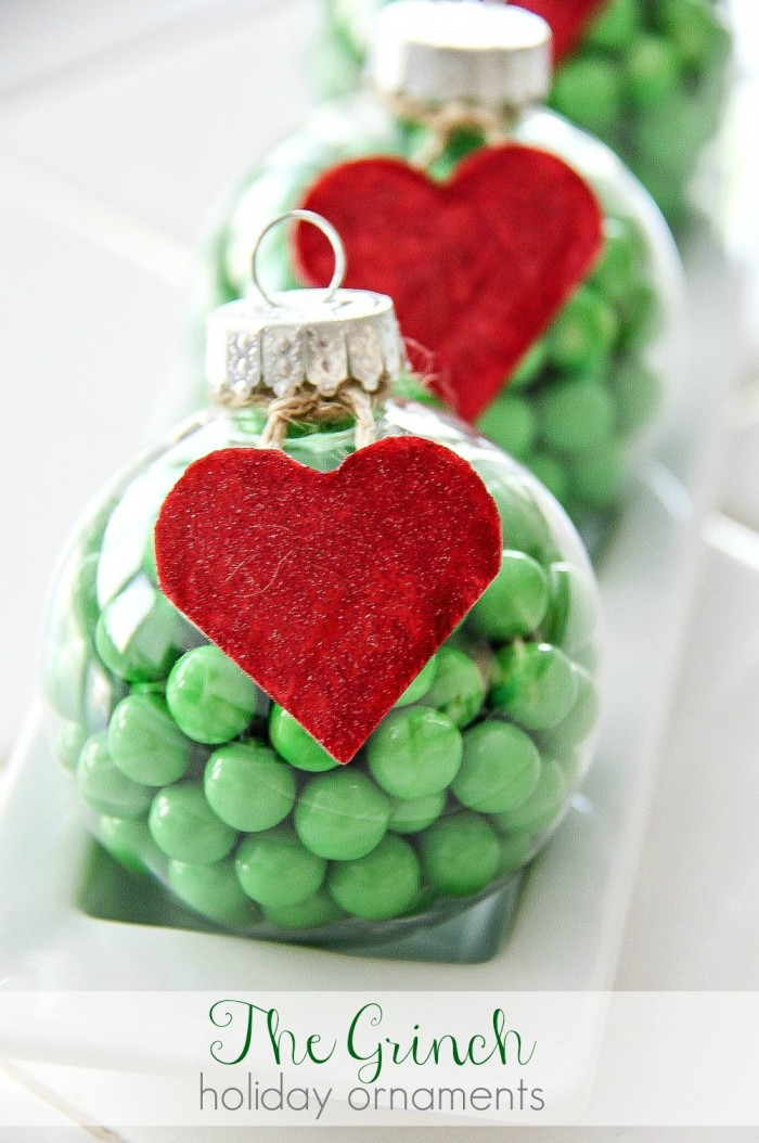 Christmas Ornaments For Kids To Make In School Part - 46: Over 30 Easy To Make Ornaments For Kids Christmas Parties At School Or Just  For Fun