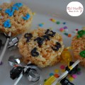 Fun Countdown to the New Year Rice Krispies Treats for a fun New Year's Eve food for the kids and you to enjoy! www.kidfriendlythingstodo.com