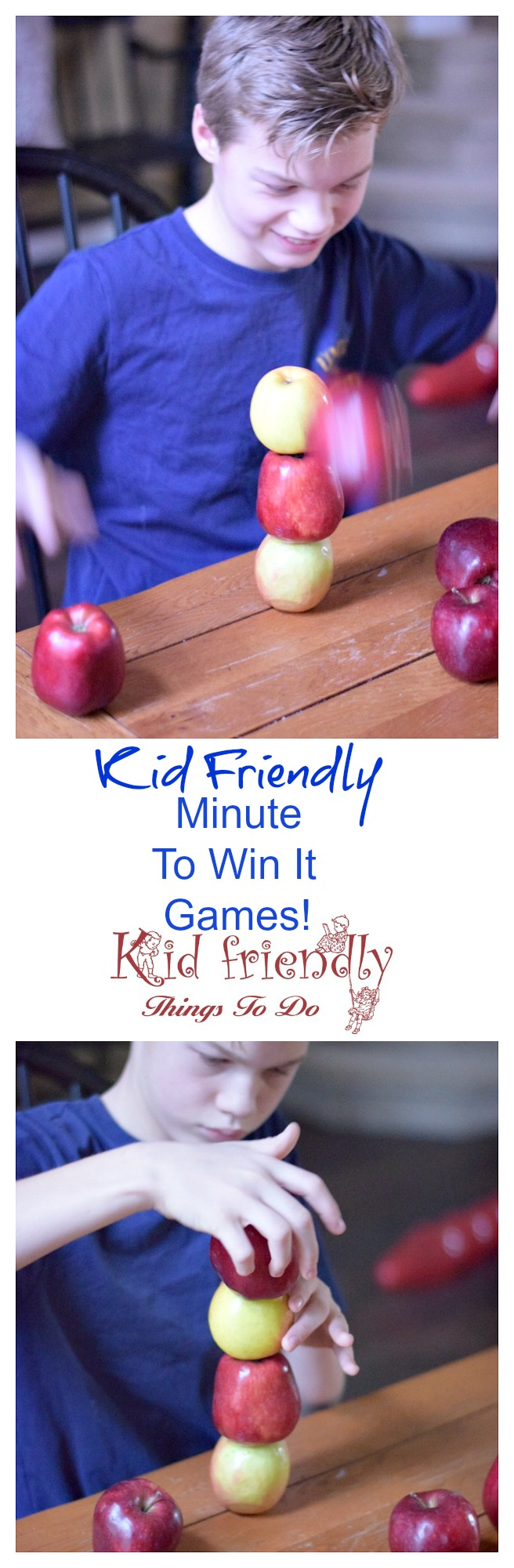 Even More Fun Kid Friendly Minute To Win it Games! Fun for the whole family! Great for parties - like Christmas, New Years, Teenage, Classroom and more! www.kidfriendlythingstodo.com