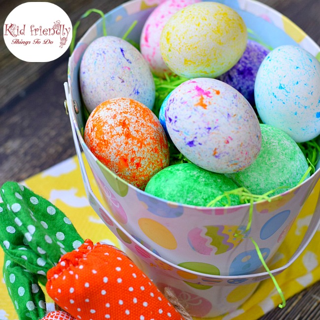 How to Use RICE To Dye Easter Eggs (Super Fun and Easy!)