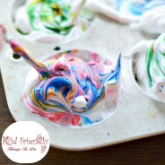 How To Dye Easter Eggs With Shaving Cream (or Whipped Cream)