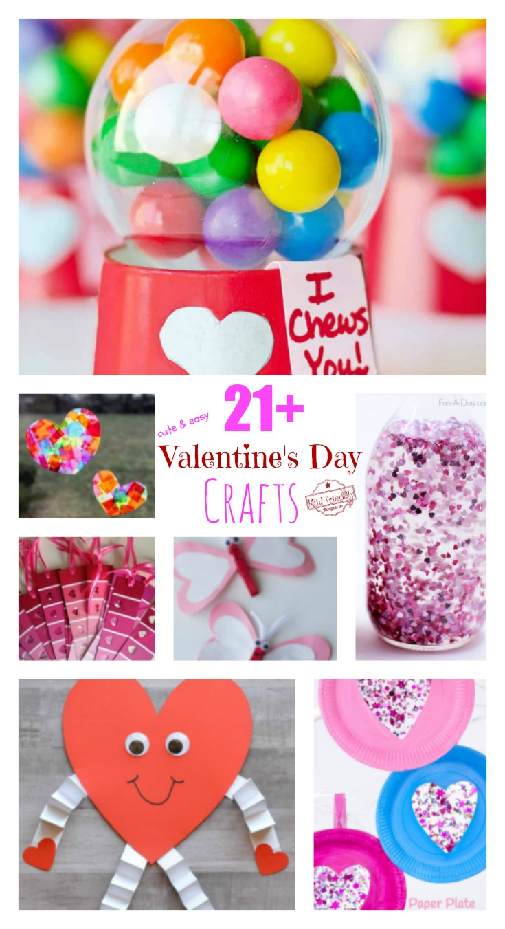 easy valentine crafts 21 s day crafts for to make that will 1941