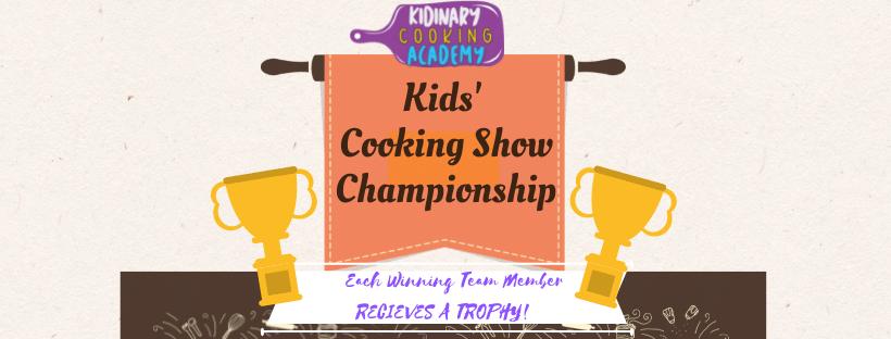 Kids Cooking Show Championship Summer Camp | Plainfield,IL