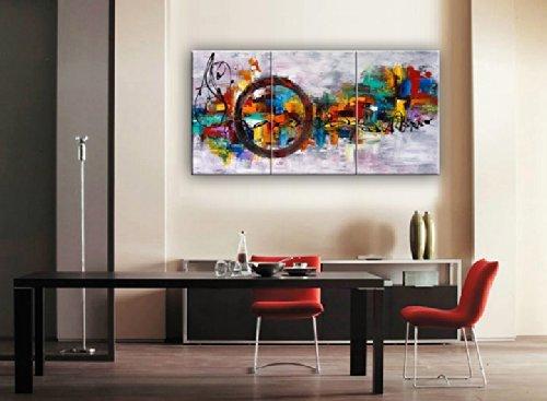Santin Art-Circle Of Magic Modern Canvas Art Wall Decor