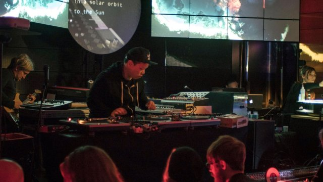 Satellite Turntable Orchestra <span>Interactive Ambient Vinyl Concert</span>