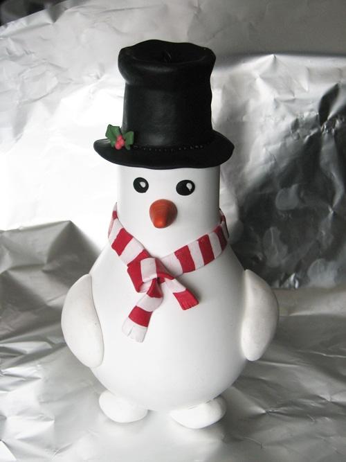 Décoration de Noël récup