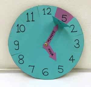 Apprendre à lire l'heure : Horloge Heure/Minutes