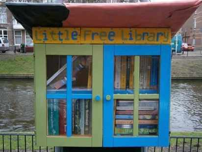 The Low-Tech Appeal of Little Free Libraries