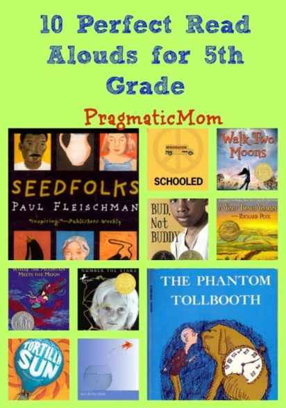 Top 10 Read Alouds for 5th graders