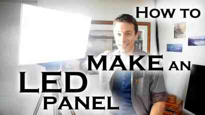 How to make a super bright LED light panel