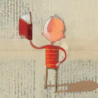 Check out this Illustrator: Oliver Jeffers