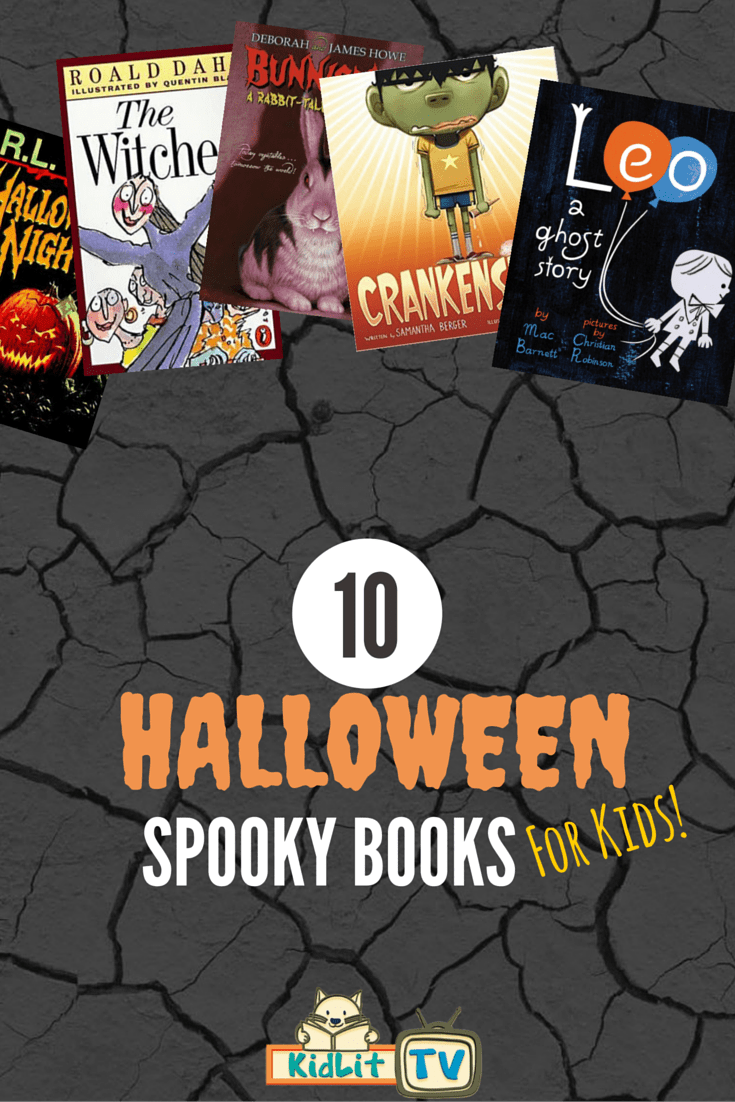 10 Spooky Books for Kids - KidLit TV