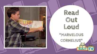 Read Out Loud | John Parra Reads 'Marvelous Cornelius'