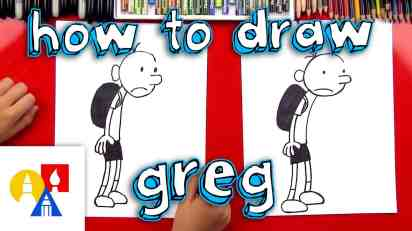 How To Draw Greg From Diary Of A Wimpy Kid