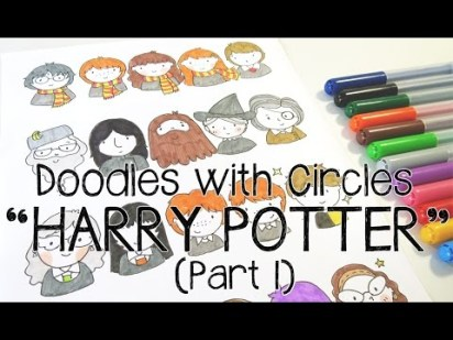 Doodles with Circles : Harry Potter