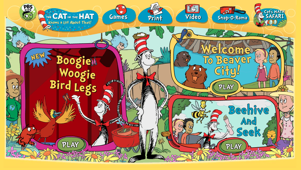 The Cat in the Hat Jumping Games | All Cat Games