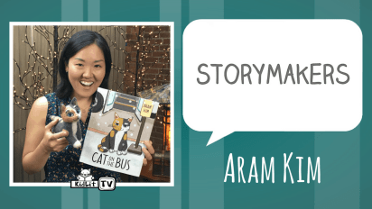 StoryMakers: Aram Kim's CAT ON THE BUS