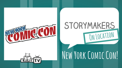 StoryMakers On Location: NY Comic Con!