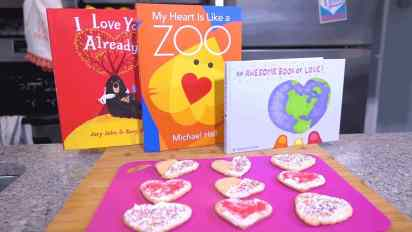 Valentine's Day Cookies | Story Time Snacks