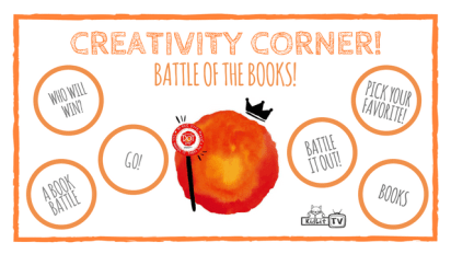 Creativity Corner: Battle of the Books