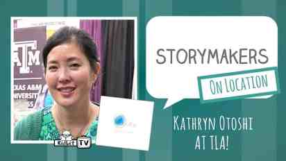 StoryMakers on Location: Kathryn Otoshi at TLA
