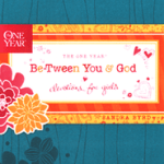 "{Book Review} and Free Book Giveaway:  ""The One Year Be-Tween You and God"""