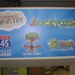 Ministry Basics: Good, Quality Signage