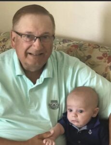 Ross Neidich with Grandson