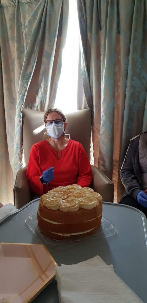 Birthday celebrations in hospital
