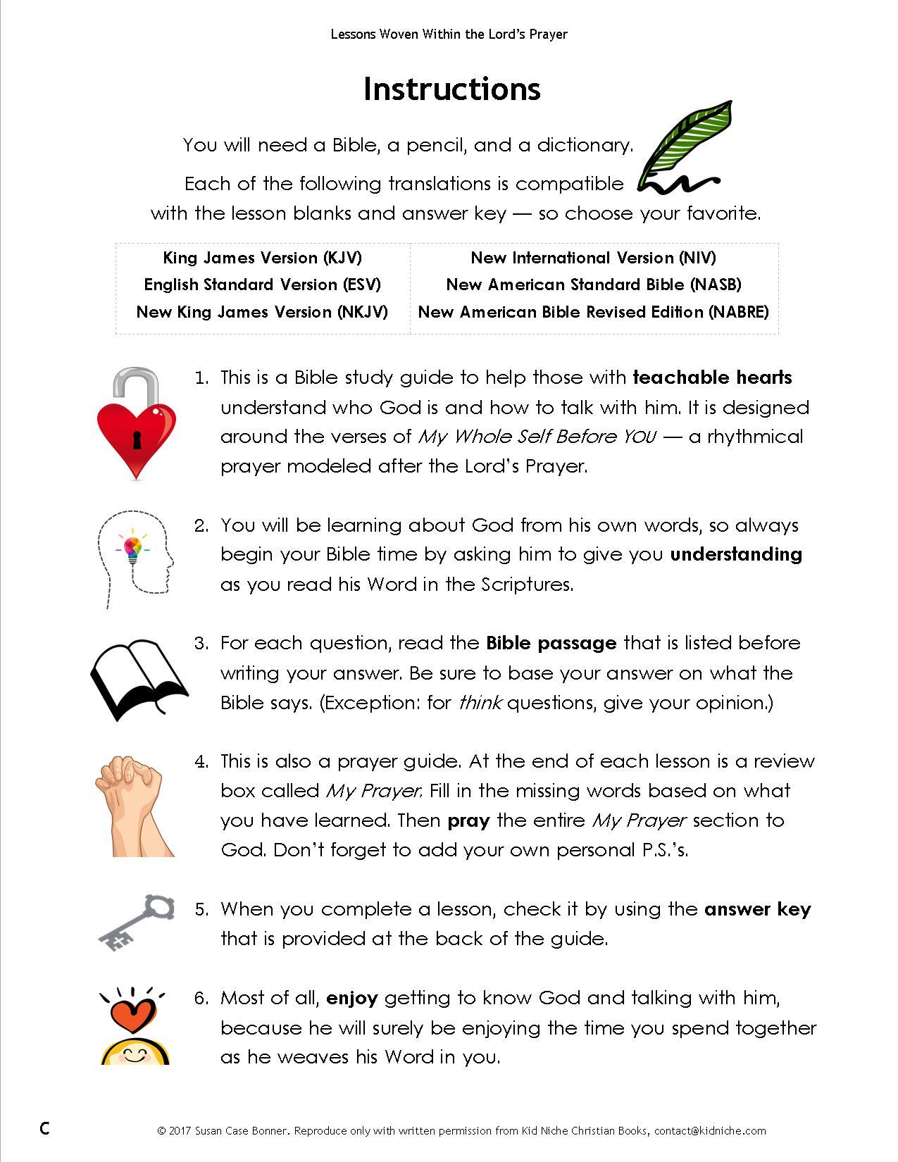 Bible And Prayer Curriculum For Tweens