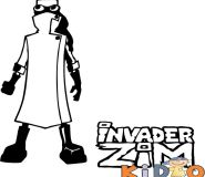 Printable invader zim Professor Membrane coloring pages