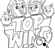 brody baddy coloring sheet top wing