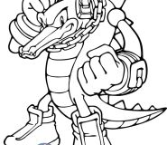 sonic vector colouring in pages kids print out free