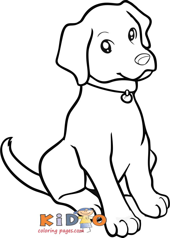 coloring pages of dog weimaraner