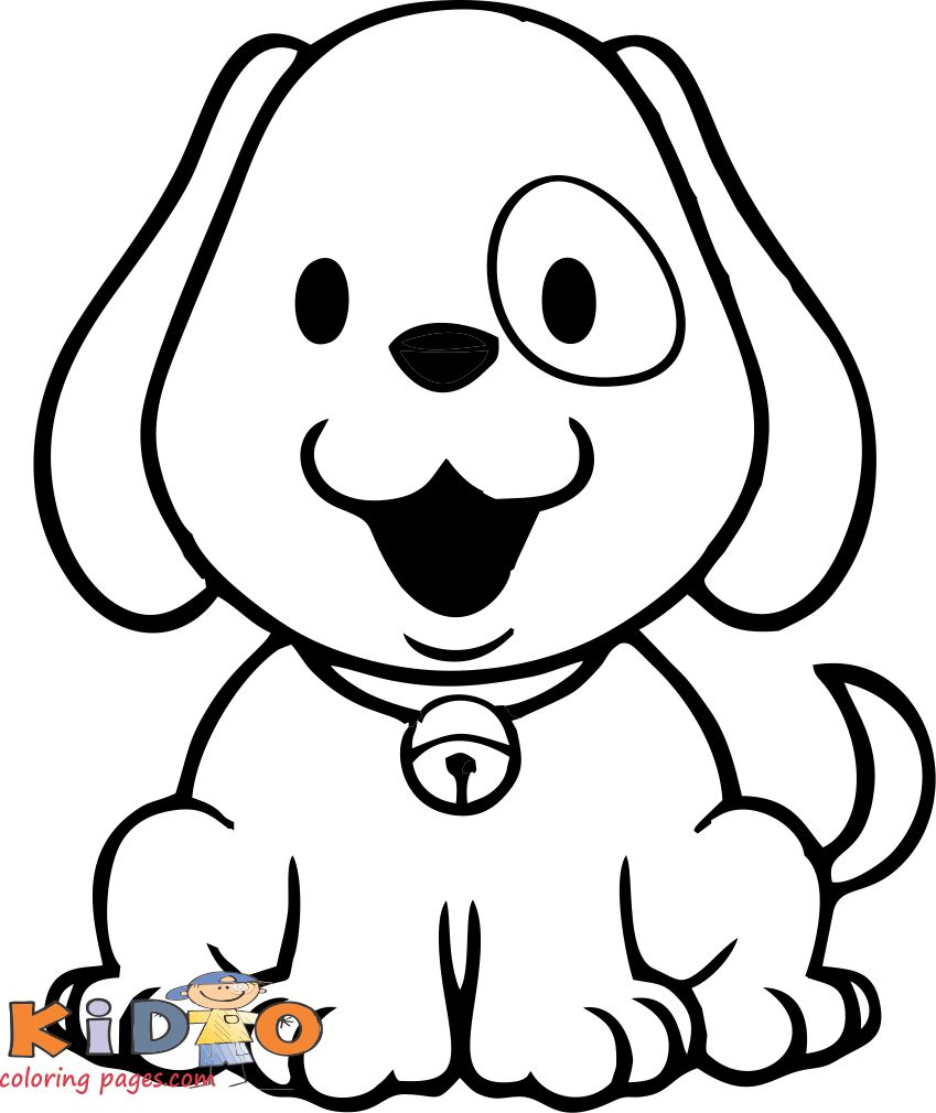 cute dog pictures to color Bullador