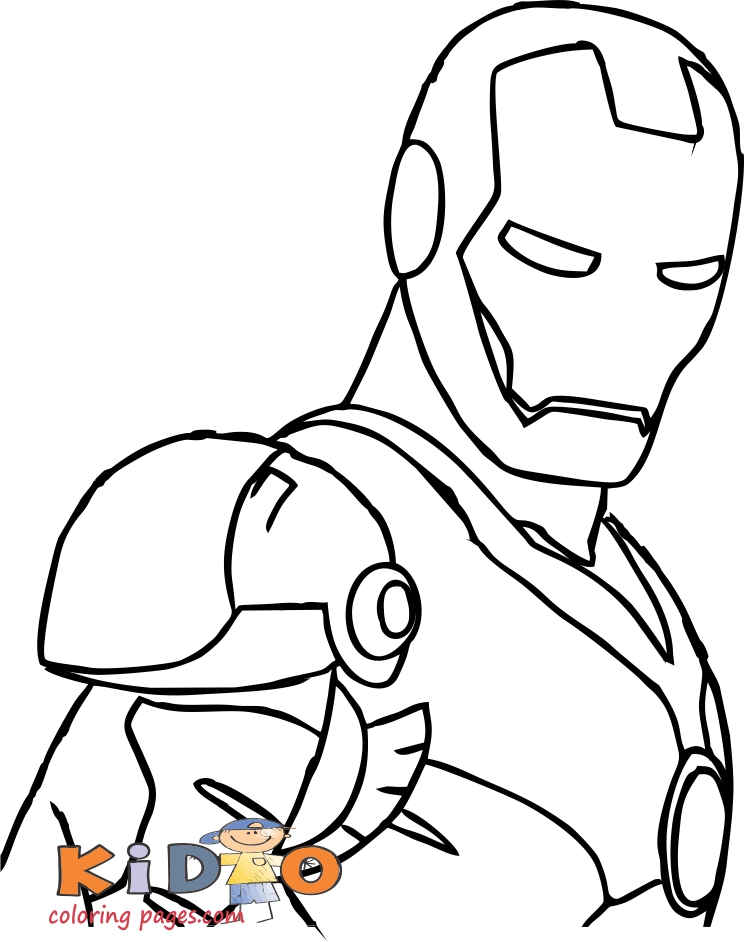 avengers coloring pages iron man