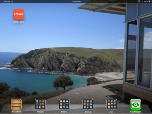 The iPad makes a repository of all things medical and non-medical