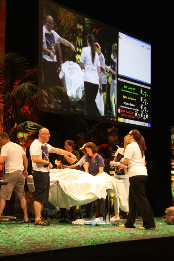 "SimWars fracas at smaccGOLD :  ""Team leader, this scenario is grillin' my corn"""