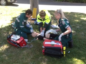 Standard ACLS in the park ...