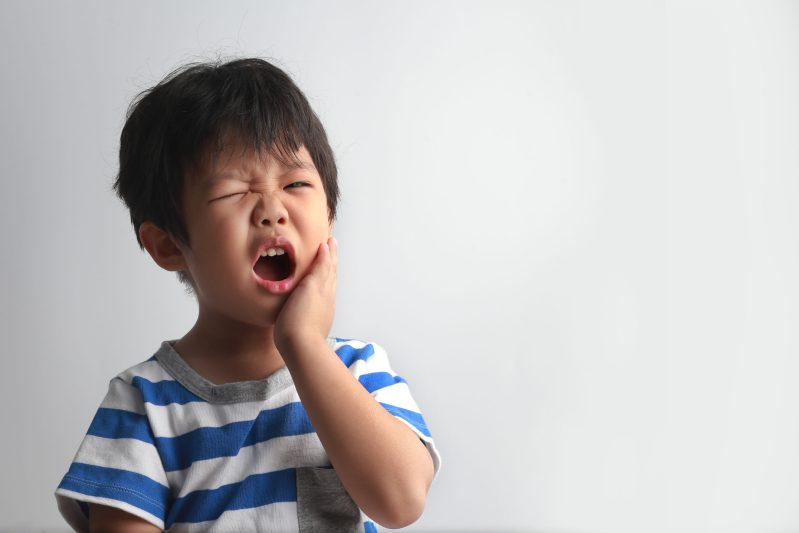 Common oral health problems in children may get serious if left unnoticed.