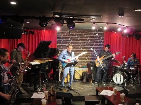 """4/26 越谷Mojo Mojaで""""Jazz&Blues Session""""でした"""