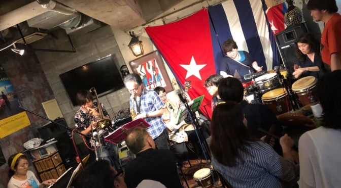 2019/7/7 「Takashi Nanakazto Presents  Latin Jazz Jam Night Vol.2」