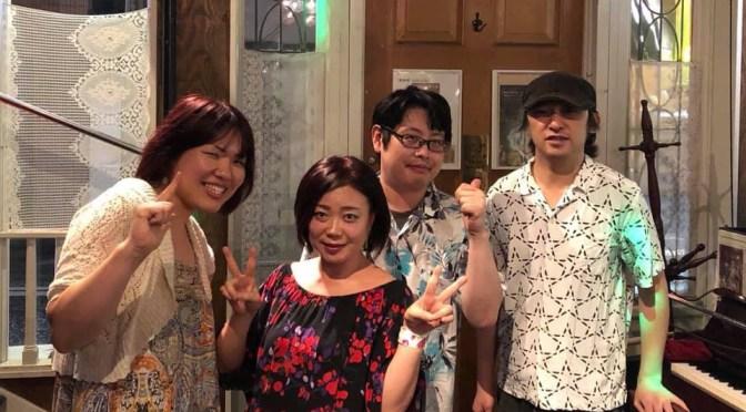2019/7/31 Latin Live@野毛 博物館Cafe&Barうっふ