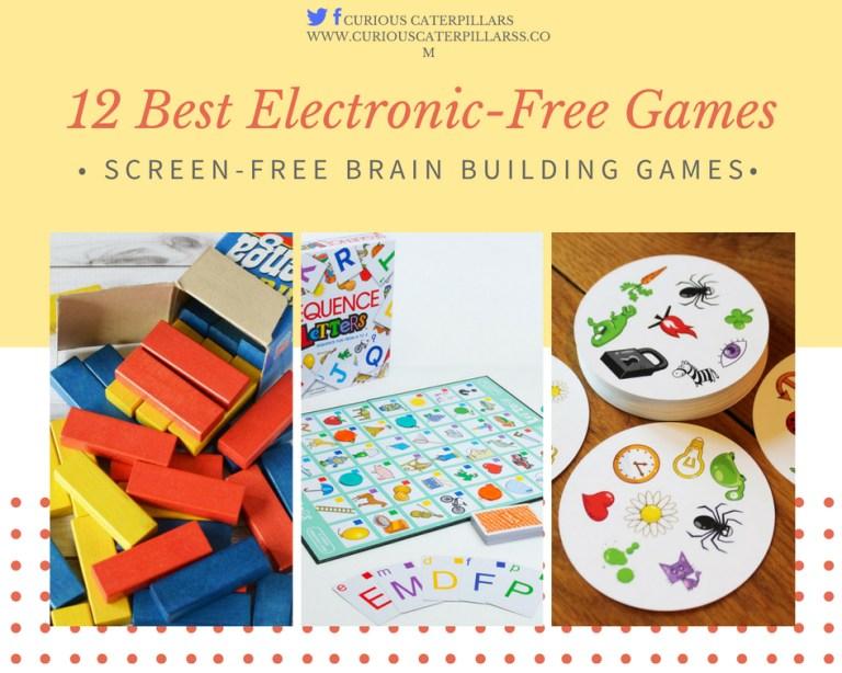 electronic-free games