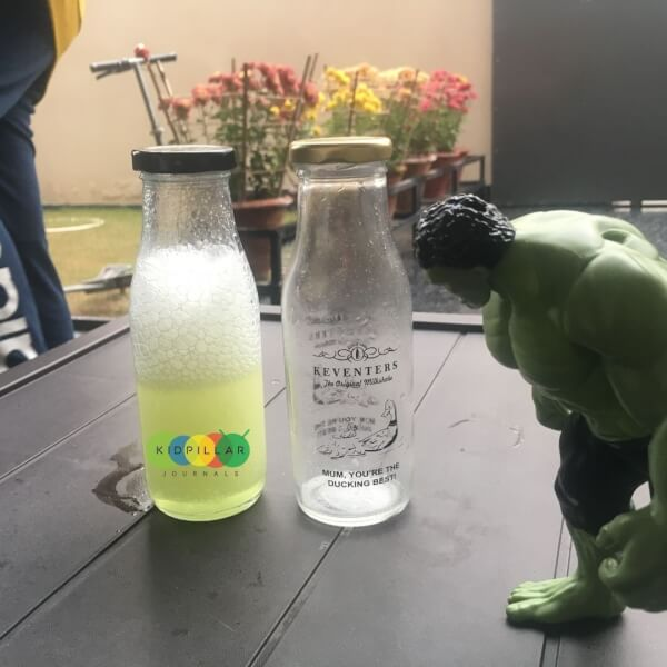 Science activity for kids