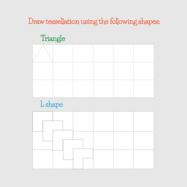 tessellation activity for kids