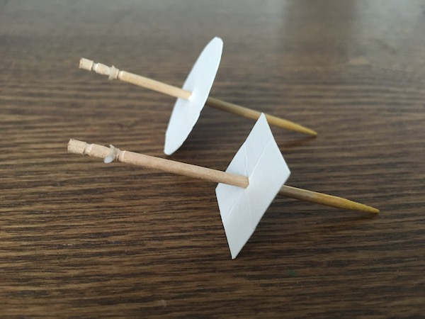 Toothpick spinners