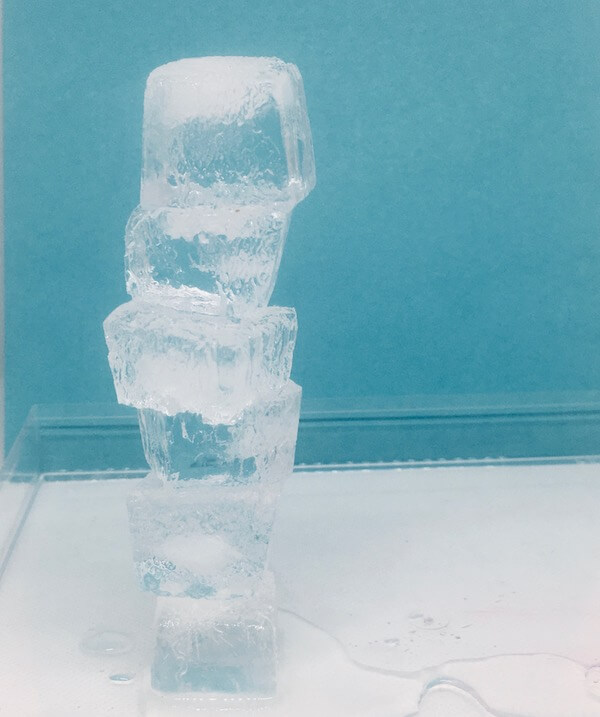 ice tower STEM activity for kids