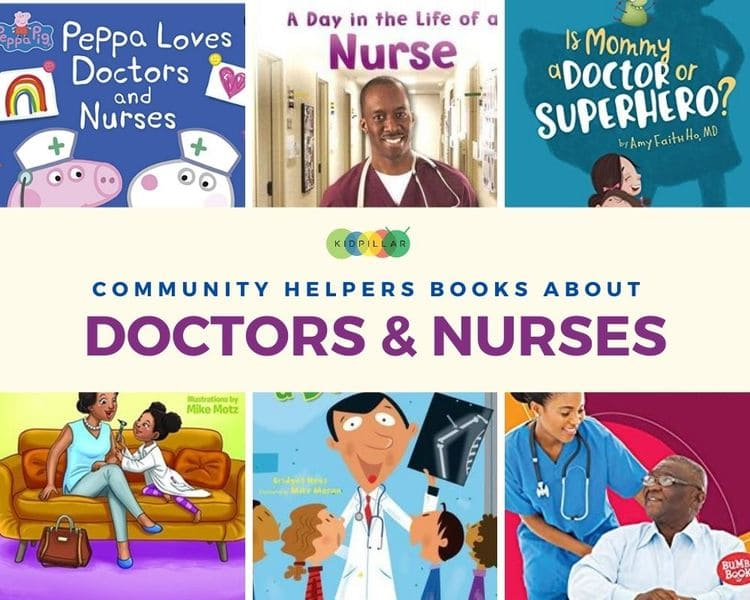 Doctor and nurses books for kids